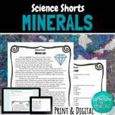 Minerals Reading Comprehension Passage