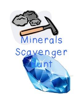Minerals Scavenger Hunt