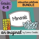 Minerals Interactive Notebook Doodle BUNDLE - Science Notes