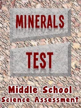 Minerals Test