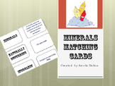 Minerals Vocabulary Matching Cards