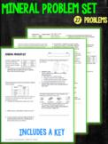 Minerals and Mineral Properties Problem Set