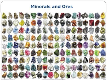 Minerals and Ores PowerPoint
