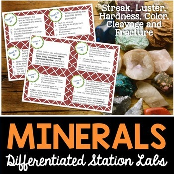 Minerals Student-Led Station Lab