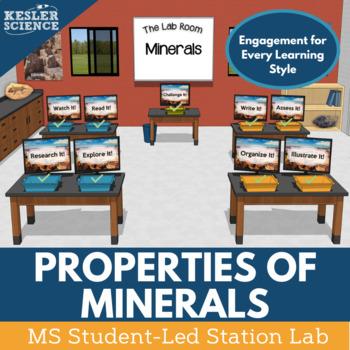 Minerals Student-Led Station Lab