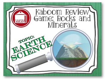 Minerals and Rock Cycle KABOOM Game
