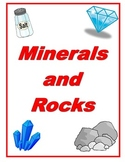 Minerals and Rocks Reading Comprehension