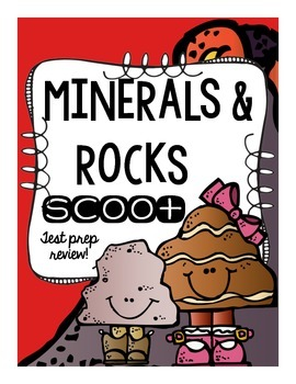 Minerals and Rocks SCOOT or Task Card Review