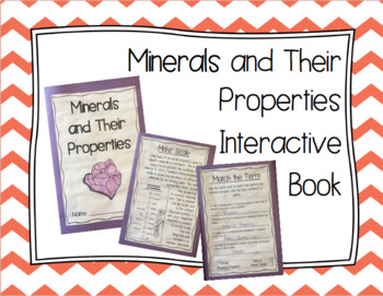 Minerals and Their Properties Interactive Book