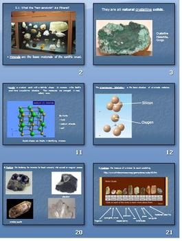 Minerals of the Earth - Power Point Presentation- Keene