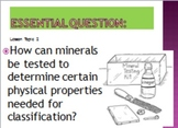 Minerals unit powerpoint