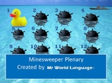 Minesweeper Plenary Game
