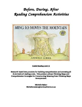 Ming Lo Moves the Mountain-Comprehension Strategies