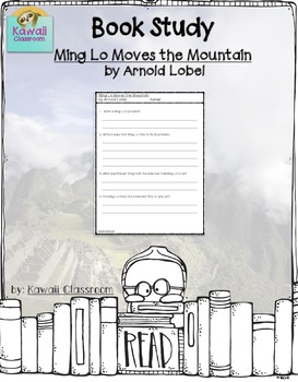 Ming Lo Moves the Mountain (Problem and Solution) {Level K}