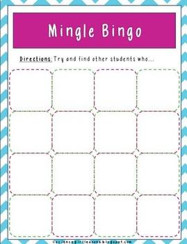 Mingle Bingo {Catholic Edition}