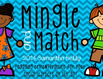 Matching Game for Kids who Need to Move