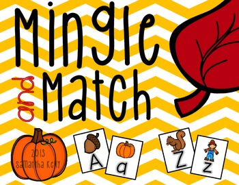 Mingle and Match - Upper and Lower Case Matching