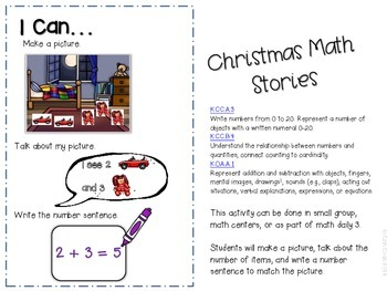 Mingle with Math - Hands on Math Stories (Holiday Edition)