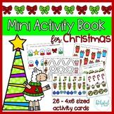 Mini Activity Book - Christmas Themed
