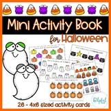 Mini Activity Book - Halloween Themed