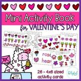Mini Activity Book - Valentine's Day Themed