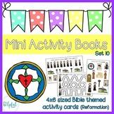 Mini Activity Books - Bible Themed Set 10 (Reformation)
