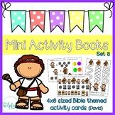 Mini Activity Books - Bible Themed Set 8 (David)