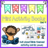 Mini Activity Books - Bible Themed Set 9 (Jonah)