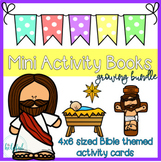 Mini Activity Books ~ Bible themed ~ low prep ~ Growing Bundle