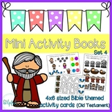 Mini Activity Books ~ Bible themed (Old Testament) ~ low p