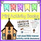 Mini Activity Books ~ Bible themed Set 5 (Recitations)