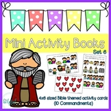 Mini Activity Books - Bible Themed Set 6 (10 Commandments)