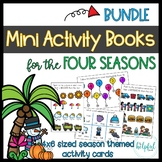 Mini Activity Books ~ Four Seasons themed ~ low prep ~ Gro