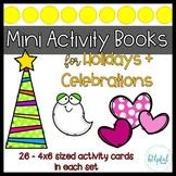 Mini Activity Books - Holidays and Celebrations BUNDLE