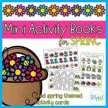 Mini Activity Books ~ Spring themed