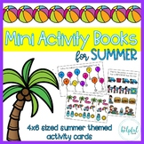 Mini Activity Books ~ Summer themed ~ low prep