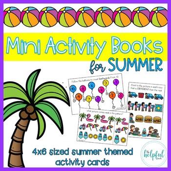 Mini Activity Books ~ Summer themed