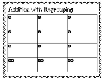 Mini Addition Task Cards