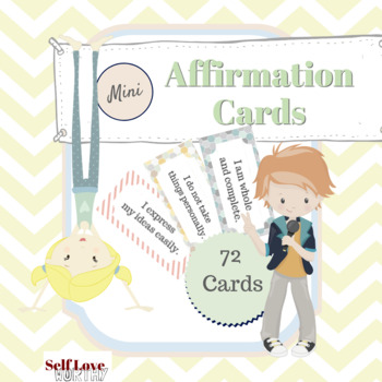 Mini Affirmation Cards - Positive Thinking