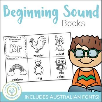 Beginning Sound Alphabet Books - Print, Cut, Color and Staple