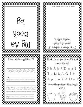 Mini Alphabet Books