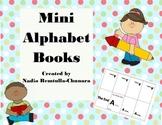 Mini Alphabet Books- A to Z