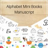 Mini Alphabet Books- (D'Nealian) Manuscript