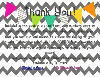 Mini Alphabet Bunting Kit [create any message of your choice!]