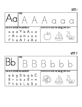 Mini Alphabet Pack