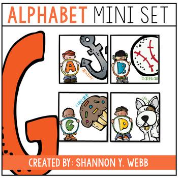 Mini Alphabet & Word Wall Banner (Melonheadz)
