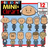 Mini American Presidents- Pint-Sized President Clip Art