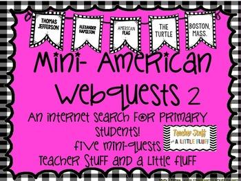 Mini American Webquests