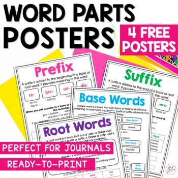 Vocabulary Mini Anchor Charts