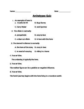 Mini Archetype Quiz